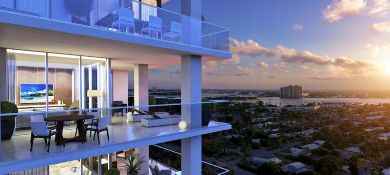 First new Singer Island condo in a decade nears completion