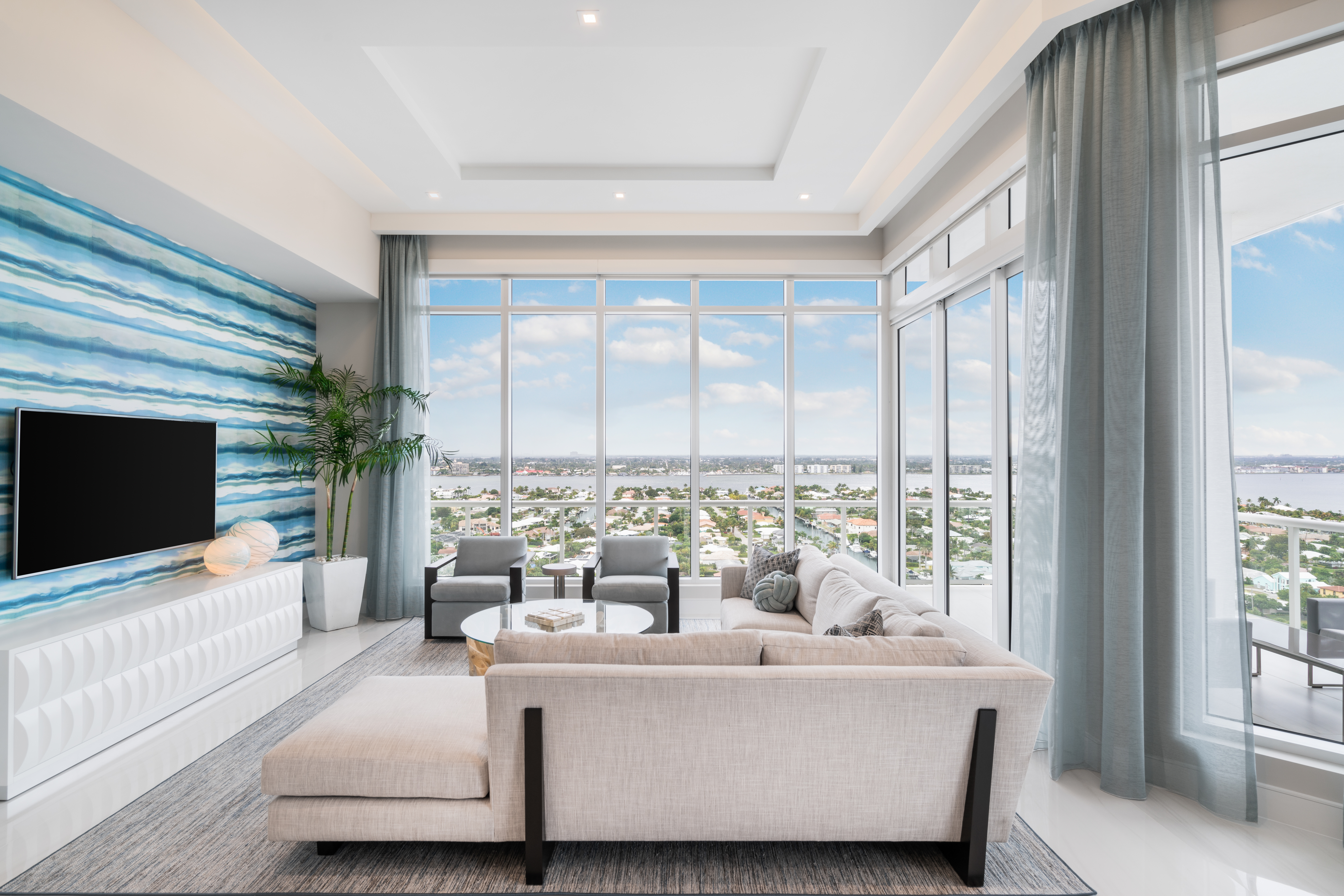 VistaBlue Singer Island, The Palm Beaches' First Luxury Oceanfront Condo Officially Opens